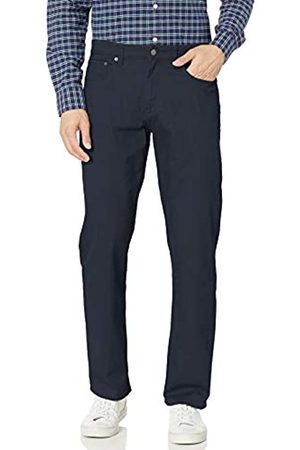 Amazon Essentials Uomo Stretch - Relaxed-Fit 5-Pocket Stretch Twill Pant Casual-Pants, Dainty, 31W x 28L
