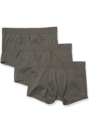 Goodthreads 3-Pack Lightweight Performance Knit Trunk Trunks-Underwear, Scuro, US S