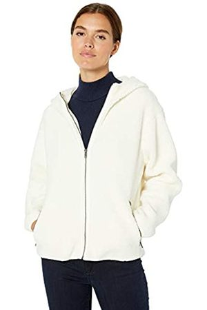 Daily Ritual Teddy Bear Hooded Zip Jacket Outerwear-Jackets, , US L