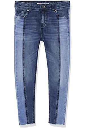 RED WAGON Marchio Amazon - Jeans Bambina con Pannelli a Contrasto, , 128, Label:8 Years