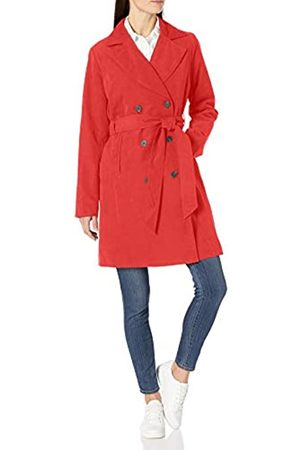 Amazon Essentials Water-Resistant Trench Coat Outerwear-Jackets, Mocassini Eleganti da Donna, US L