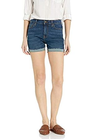 Goodthreads Denim Turn-Cuff Short Shorts, Deep Blue, 31