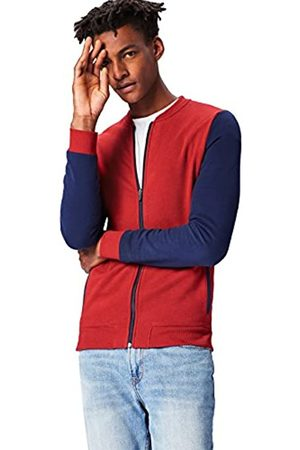 Activewear Giacca Bomber in Jersey con Maniche a Contrasto Uomo, , Small
