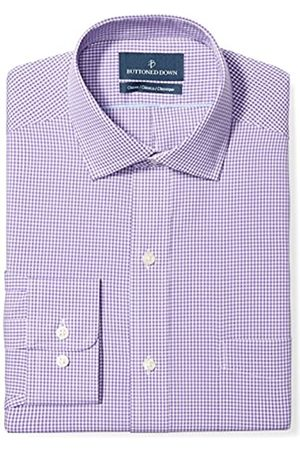 """Buttoned Down Classic Fit Spread Collar Pattern Camicia, , 18.5"""" Neck 36"""" Sleeve"""