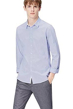 FIND Camicia in Cotone con Inserti Uomo, , X-Large