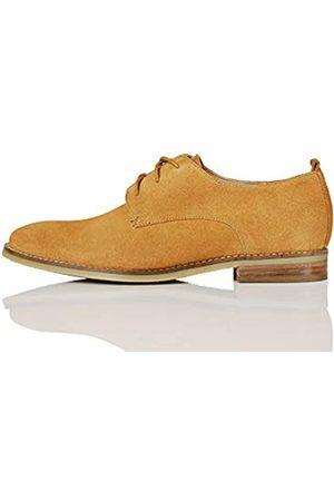 FIND Marchio Amazon - FIND Leather Scarpe Stringate Brouge, , 38 EU