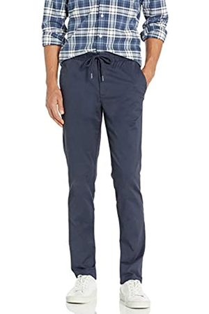 """Goodthreads Slim-Fit Washed Chino Drawstring Pant Casual-Pants, Dainty, XX-Large/32"""" Inseam"""