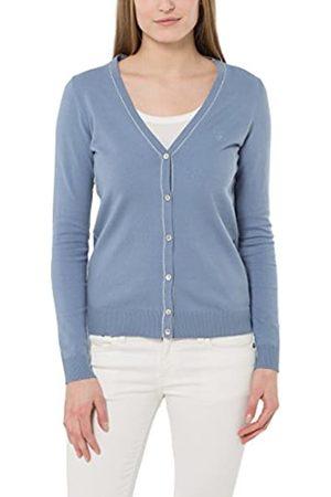 Berydale Cardigan da donna, giacca in maglia con lista a bottoni, in delicati colori estivi, , 44