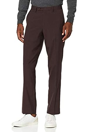 FIND Marchio Amazon - Pantaloni Regular Fit Uomo, Marrone , 34W / 29L, Label: 34W / 29L