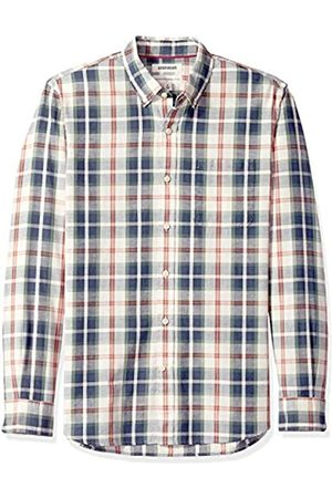 Goodthreads Standard-Fit Long-Sleeve Pattern Chambray Camicia, , US