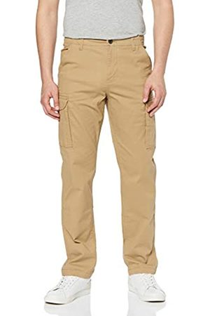 MERAKI Marchio Amazon - Pantaloni Cargo Slim Fit Uomo, , 34W / 32L, Label: 34W / 32L