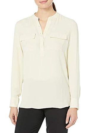 Lark & Ro Long Sleeve Sheer Utility Woven Tunic Top with Band Collar Shirts, Reebok Cardio Motion, US 0
