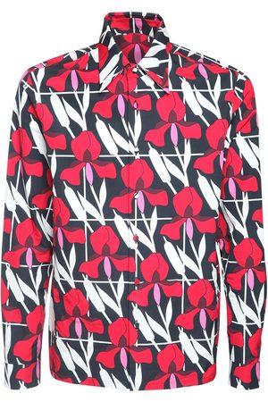 Prada Camicia In Cotone Stampato