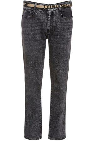 Stella McCartney Jeans Skinny Boyfriend In Denim Eco Con Cintura