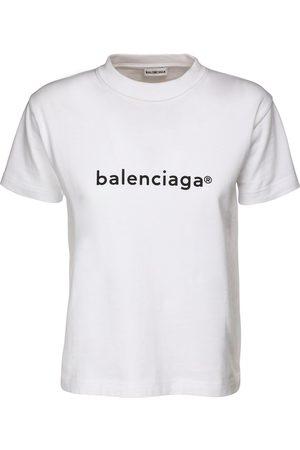 Balenciaga T-shirt In Jersey Di Cotone