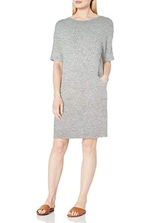 Daily Ritual Cozy-Vestito da Tasca Cucito a Maglia Dresses, Heather Grey Marl, US XL
