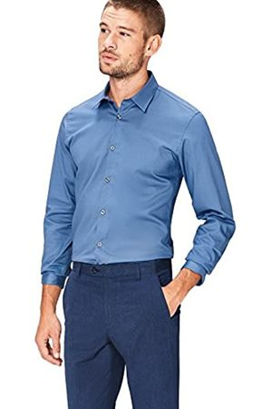 FIND Marchio Amazon - Camicia Uomo, , 41 cm, Label: XL