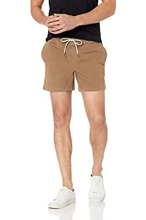 Goodthreads Marchio Amazon - 5 inch Inseam Pull-On Stretch Canvas Short Flat-Front-Shorts, Kimly Cage, US M