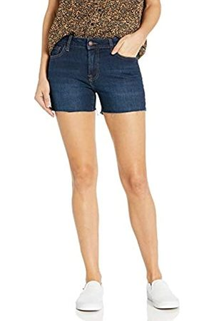 Goodthreads Denim Raw Edge Short Shorts, Indigo Rinse, 26