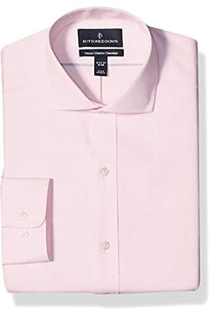 """Buttoned Down Classic Fit Cutaway Collar Solid Non-Iron Dress Shirt Camicia, , 15"""" Neck 33"""" Sleeve"""