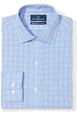 """Buttoned Down Classic Fit Pattern Camicia, , 15.5"""" Neck 34"""" Sleeve"""