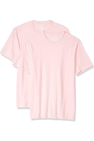 Amazon 2-Pack Slim-Fit Short-Sleeve Crewneck T-Shirt Fashion-t-Shirts, Stack II, US M