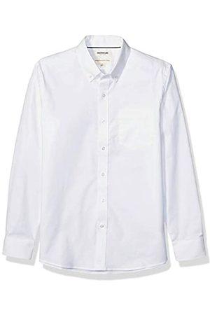 Goodthreads Standard-Fit Long-Sleeve Stretch Oxford Shirt Camicia Che Si abbottona, Bianco, XS