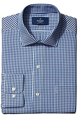 Buttoned Down Classic Fit Pattern Camicia, , 19.5 38