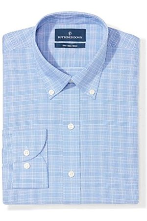 """Buttoned Down Slim Fit Button Collar Pattern Camicia, , 14.5"""" Neck 32"""" Sleeve"""