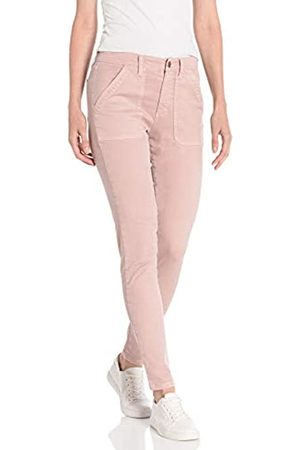 Daily Ritual Donna Stretch - Stretch Cotton/Lyocell Utility Pant Work Pants, Pale Mauve, US 6