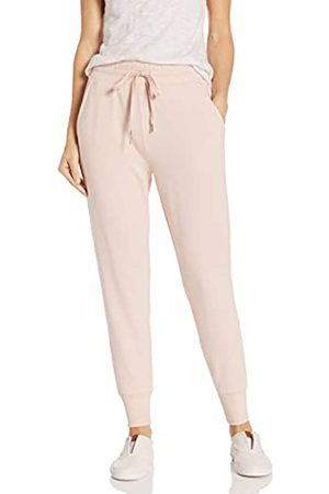 Daily Ritual Terry Cotton And Modal Jogger Pants, Light Peach, US