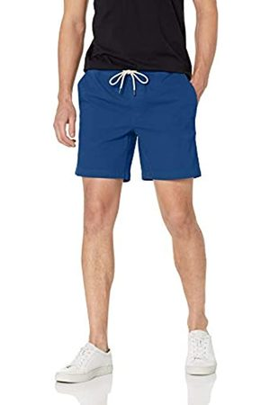 Goodthreads Marchio Amazon - 7 inch Inseam Pull-On Stretch Canvas Short Shorts, Bright Blue, US