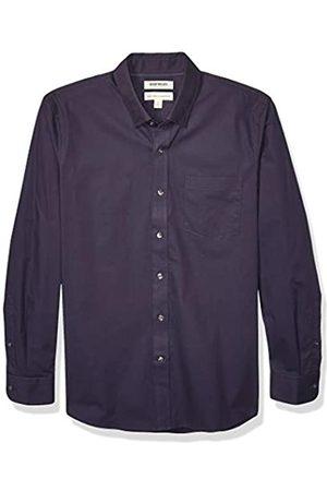 Goodthreads Marchio Amazon - , camicia da uomo, a maniche lunghe, popeline elasticizzato e comodo, facile da lavare, Standard Fit, Raissa metallizzate, 3X-Large Tall