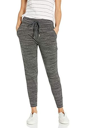 Daily Ritual Terry Cotton And Modal Jogger Pants, Charcoal Heather Spacedye, US L
