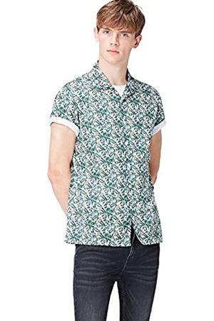 FIND Marchio Amazon - Camicia Uomo, , S, Label: S