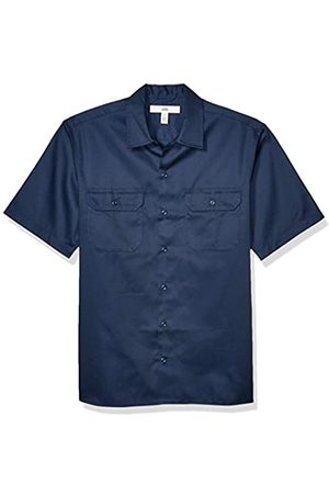 Amazon Short-Sleeve Stain And Wrinkle-Resistant Work Shirt Camicia,