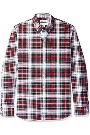 Goodthreads Camicia Oxford a Maniche Lunghe Standard Fit Uomo, , Medium