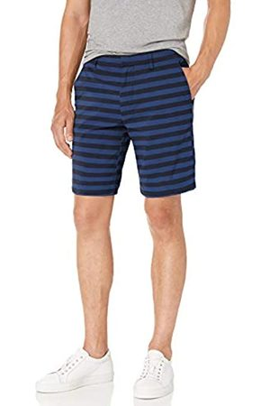 Goodthreads Marchio Amazon – - Pantaloncini ibridi da uomo, cavallo 22,9 cm, Bright Blue Stripe, 33