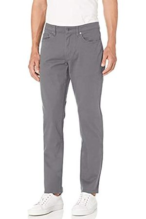 Amazon Slim-Fit 5-Pocket Stretch Twill Pant Pantaloni Casual, Dark Grey, 29W / 29L