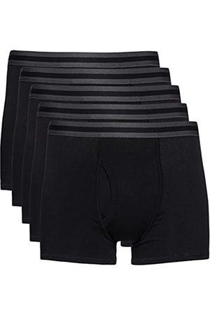 FIND Uomo Boxer shorts - Marchio Amazon - Bermuda in Cotone Uomo, Pacco da 5, , S, Label: S