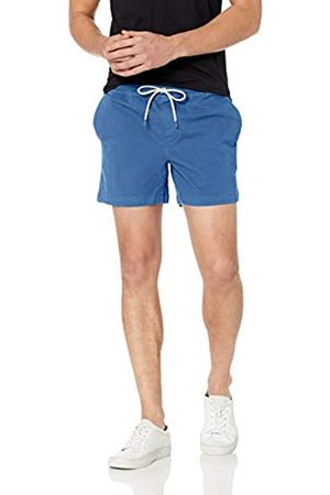 Goodthreads Marchio Amazon - 5 inch Inseam Pull-On Stretch Canvas Short Shorts, Bright Blue, US L