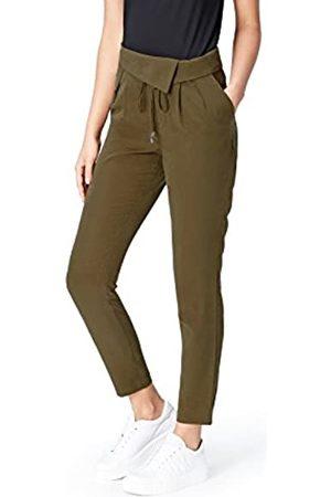 FIND Marchio Amazon - Pantalone a Sigaretta Donna, , 48, Label: XL