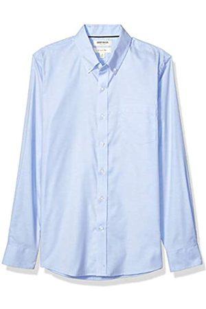 Goodthreads Slim-Fit Long-Sleeve Stretch Oxford Shirt Camicia, Uomo, Blue, M Tall
