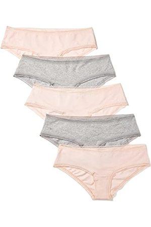 IRIS & LILLY Marchio Amazon - Slip in Cotone, Pacco da 5, Multicolore , S, Label: S