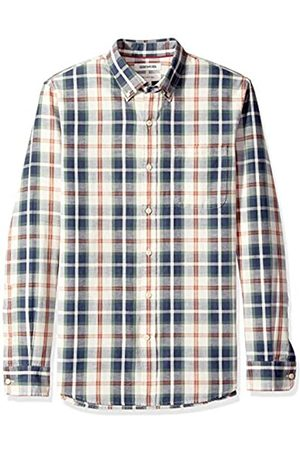 Goodthreads Slim-Fit Long-Sleeve Pattern Chambray Shirt Camicia, , US