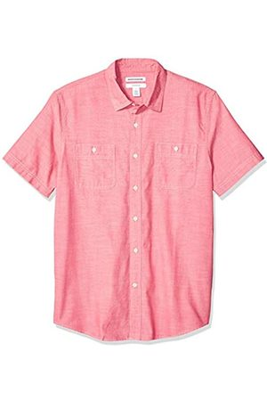 Amazon Camicia da uomo a maniche corte in chambray, aderente, Sandali Adventure Seeker, punta chiusa - T - Bambini, US XXL