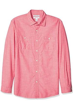 Amazon Camicia da uomo, a maniche lunghe, in chambray, vestibilità standard, Sandali Adventure Seeker, punta chiusa - T - Bambini, US XS