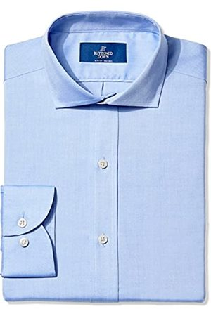 """Buttoned Down Uomo Polo - Slim Fit Solid Pocket Options Camicia, , 15"""" Neck 36"""" Sleeve"""