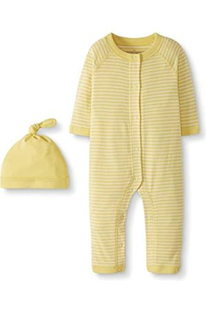 Moon and Back by Hanna Andersson Snap Front One Piece Coverall with cap Set Infant-And-Toddler-Layette-Sets, N9000 III, 0-3 Months