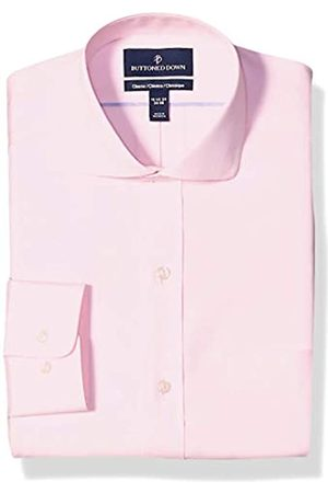 """Buttoned Down Classic Fit Cutaway Collar Solid Non-Iron Dress Shirt Camicia, , 16.5"""" Neck 38"""" Sleeve"""